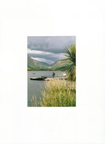 -A Natural Ribbon Lake